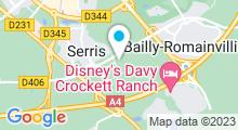 Plan Carte Centre aquatique Val-d'Europe - Piscine à Bailly-Romainvilliers