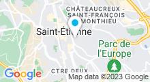 Plan Carte Piscine Villeboeuf à Saint Etienne