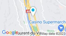 Plan Carte Piscine olympique de la Plaine du Var - Camille Muffat à Nice