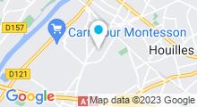 Plan Carte Centre aquatique - Piscine de Sartrouville
