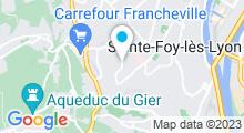 Plan Carte Piscine Calicéo - Piscine à Sainte Foy lès Lyon