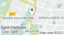Plan Carte Piscine Calicéo - Piscine à Saint-Herblain