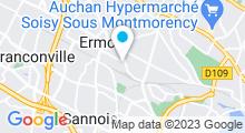Plan Carte Piscine Marcellin Berthelot à Ermont
