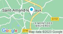 Plan Carte Centre aquatique - Piscine à Saint Amand les Eaux