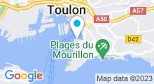Plan Carte Stade Nautique du port Marchand - Piscine à Toulon