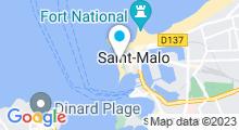 Plan Carte Piscine du Bon Secours à Saint-Malo