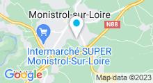 Plan Carte Centre aquatique L'Ozen - Piscine à Monistrol sur Loire