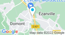 Plan Carte Piscine Maurice Gigoi d'Ezanville