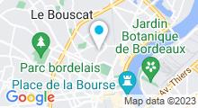 Plan Carte Piscine Bord'eau Attitude à Bordeaux