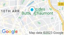 Plan Carte Piscine-école Atlas à Paris
