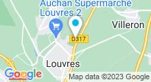 Plan Carte Piscine de Louvres
