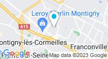 Plan Carte Piscine de Montigny-lès-Cormeilles