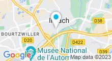 Plan Carte Bassin d'initiation à la natation à Illzach