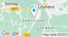 Plan Carte Piscine Aquabresse à Louhans