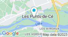 Plan Carte Piscine des Ponts de Cé
