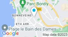 Plan Carte Piscine René Magnac à Marseille