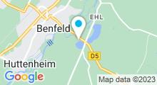 Plan Carte Plan d'eau à Benfeld