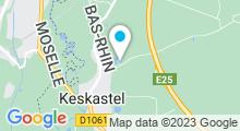 Plan Carte Plan d'eau à Keskastel