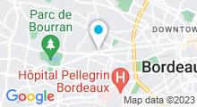 Plan Carte Espace aquatique Les Plaisirs de l'Eau - Piscine à Bordeaux