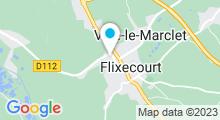 Plan Carte Nouvelle piscine à Flixecourt