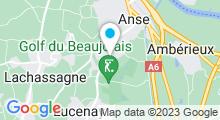 Plan Carte Piscine Aquazergues à Anse