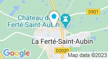 Plan Carte Piscine Le Cube - Complexe aquatique La Ferté-Saint-Aubin