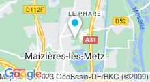 Plan Carte Piscine Plein Soleil à Maizières Les Metz