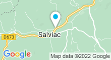Plan Carte Piscine à Salviac