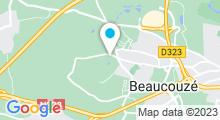 Plan Carte Centre aqualudique Couze'o - Piscine à Beaucouzé