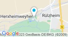 Plan Carte Base de loisirs Moby Dick à Rülzheim