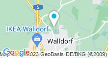 Plan Carte Piscine Aqwa Bäder une Saunapark à Walldorf