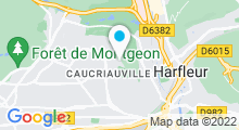 Plan Carte Piscine de Caucriauville Le Havre