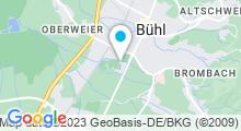 Plan Carte Piscine Schwarzwaldbad Bühl à Buehl