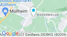 Plan Carte Piscine Freizeit- und Familienbad à Müllheim