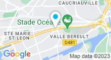 Plan Carte Piscine Edouard Thomas Le Havre