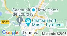 Plan Carte Complexe aquatique - Piscine à Lourdes