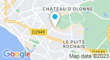 Plan Carte Centre aqualudique Aqualonne - Piscine à Château-d'Olonne