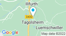 Plan Carte Piscine intercommunale à Tagolsheim