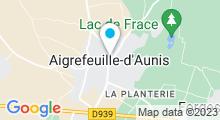 Plan Carte Piscine - Activités Aquatiques Ouest à Aigrefeuille-d'Aunis
