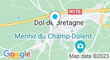 Plan Carte Piscine Dolibulle à Dol de Bretagne