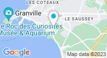 Plan Carte Centre aquatique - Piscine à Granville