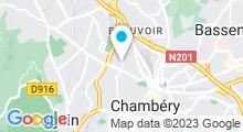 Plan Carte Centre aquatique - Piscine à Chambéry Métropole