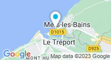 Plan Carte Centre aquatique O2 Falaises - Piscine à Tréport