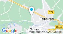 Plan Carte Centre aquatique intercommunal Ondine - Flandre Lys à Estaires