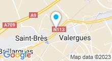 Plan Carte Piscine Héraclès à Saint-Brès