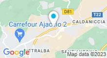 Plan Carte Piscine Aqua'Form à Ajaccio