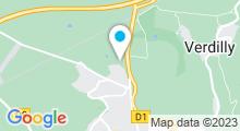Plan Carte Centre aquatique Citélium - Piscine à Château-Thierry