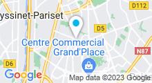 Plan Carte Piscine du Clos d'Or à Grenoble