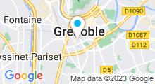 Plan Carte Piscine Jean Bron à Grenoble