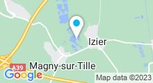 Plan Carte Lac de la Tille à Magny-sur-Tille